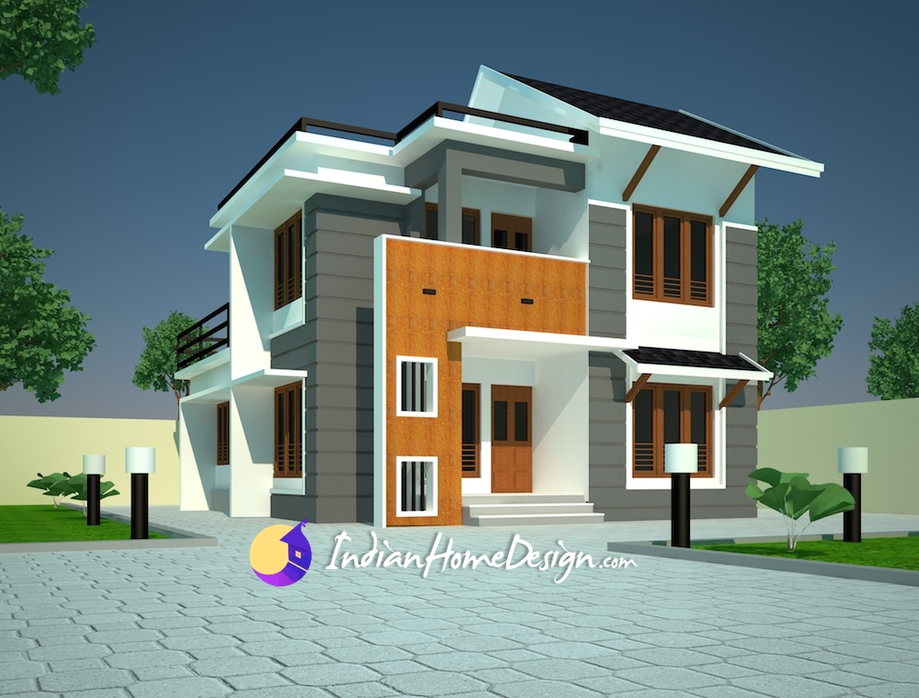 Modern Contemporary Home Design By Niyas Indian Home