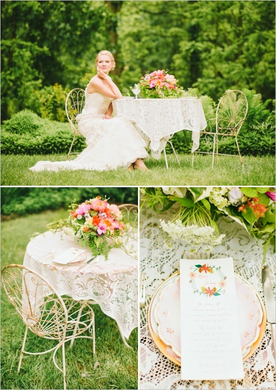 Colorful Garden Wedding Ideas