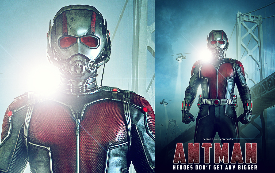 Antman movie poster photoshop photo manipulation tutorial rafy a in this photoshop tutorial i will show you how to make antman movie poster in photoshop i love how to adding soft light effect creating background baditri Gallery