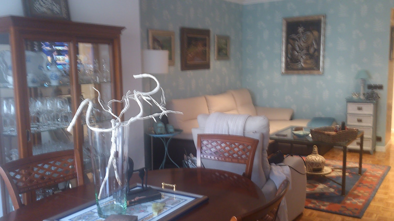 Interiorismo y decoracion lola torga sal n comedor antes - Interiorismo salon comedor ...