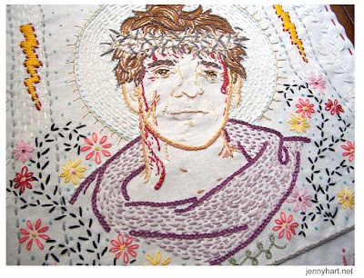 embroidered art: works stolen from toronto exhibition