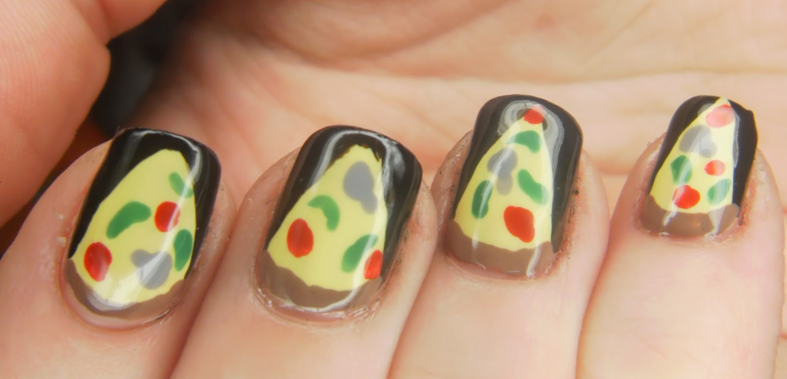 SpecialGirl Nails: Fast Food Nails - Pizza