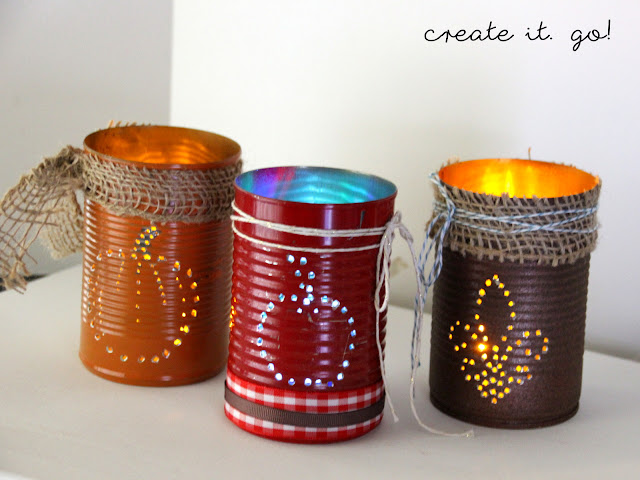 Diy luminaries lanterns with recycled materials you for Anything of waste material