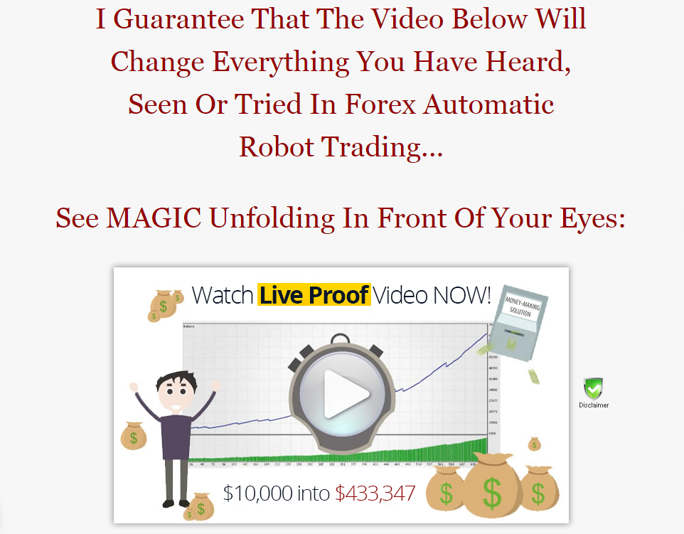 Money making forex robot