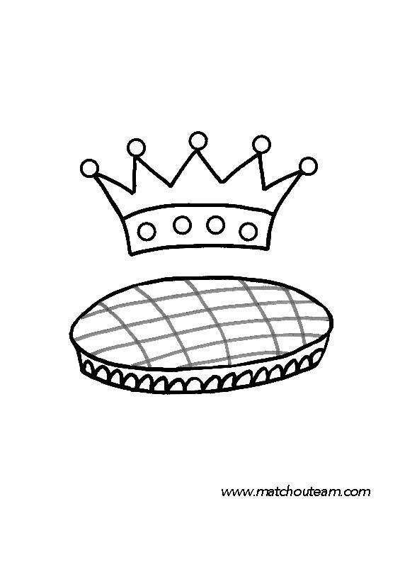 Ma tchou team activit s autours de la galette des rois - Dessin sur galette des rois ...