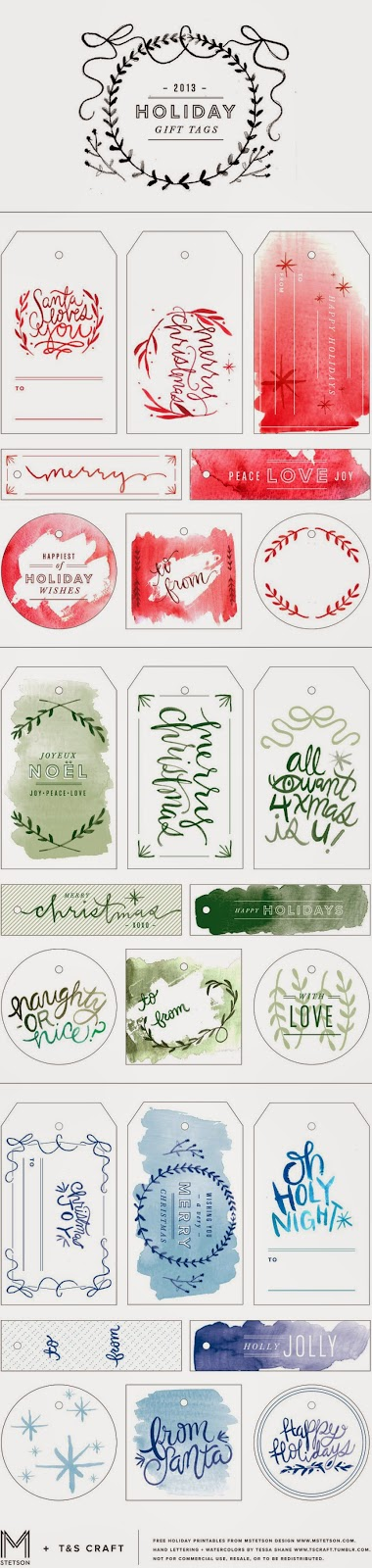 http://www.mstetson.com/2013/12/18/watercolor-holiday-gift-tag-printables/