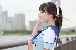 Koyuki Cosplay as Manaka Takane from LovePlus
