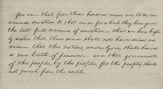 gettysberg address essay prompts