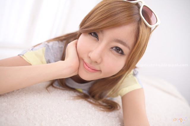 Choi-Byul-I-Yellow-and-Grey-04-very cute asian girl-girlcute4u.blogspot.com