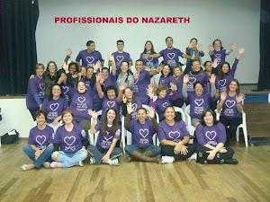 PROFISSIONAIS DA ESCOLA NAZARETH
