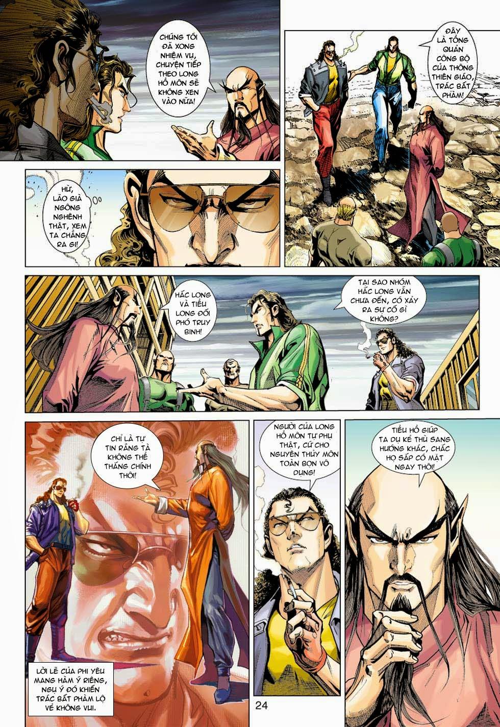 Tân Tác Long Hổ Môn chap 354 - Trang 24