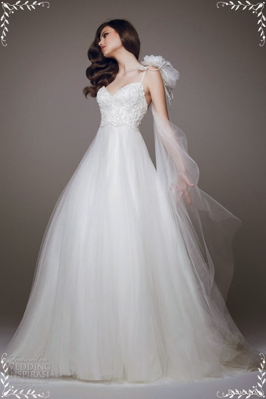Brautkleider Kollektion 2015 von Blumarine