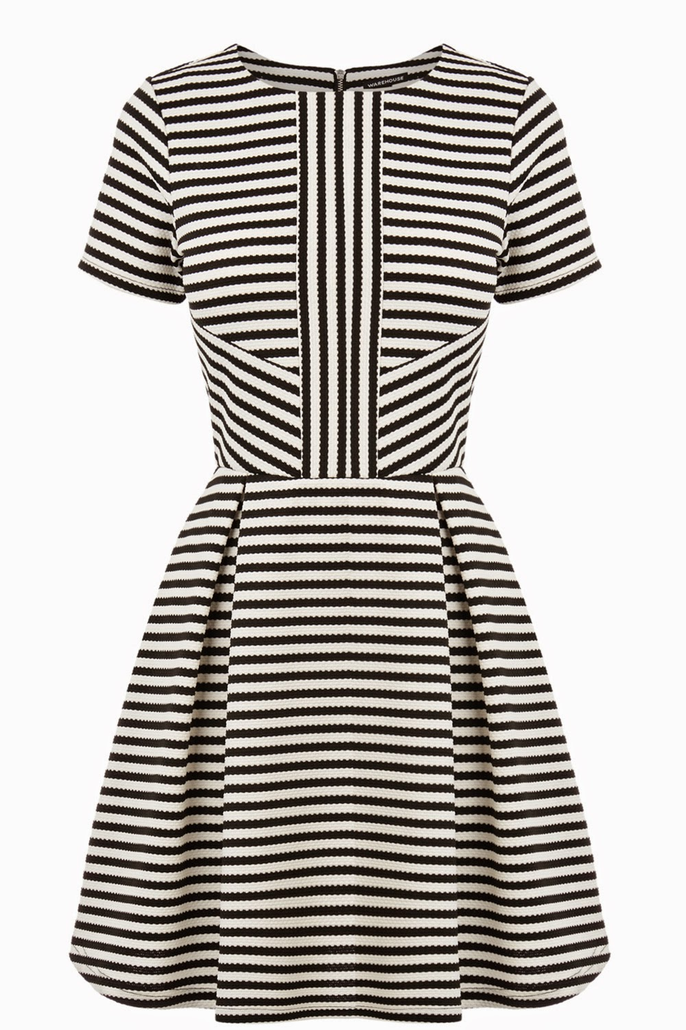 warehouse striped dress,