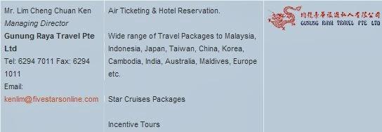 Five Stars Tours Pte Ltd
