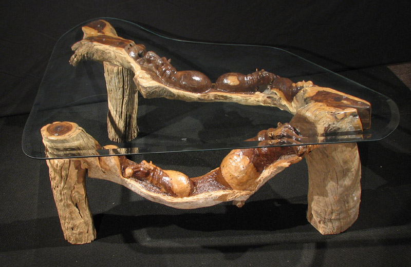 Carved African Furniture