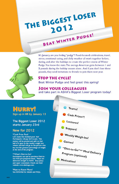 inside workplace wellness: Biggest Loser 2012