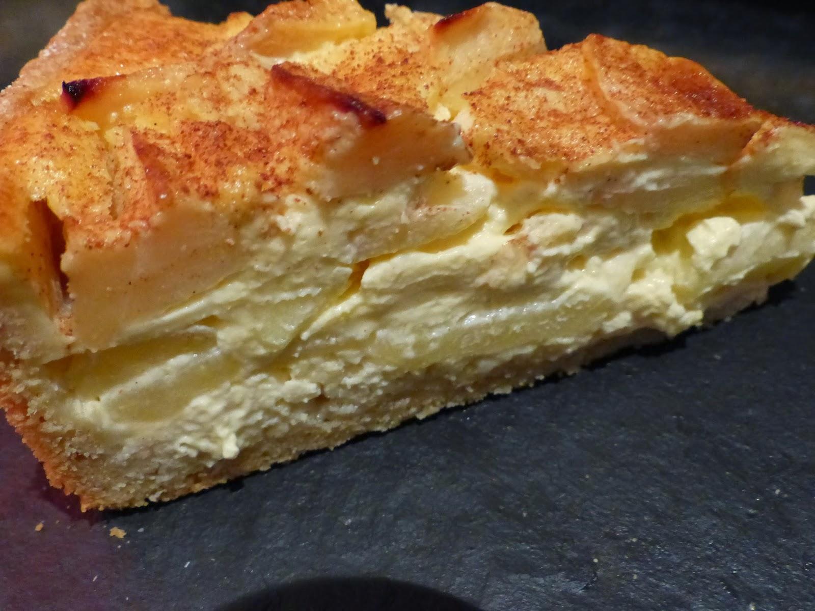 Verboten Gut Apfel Mascarpone Kuchen