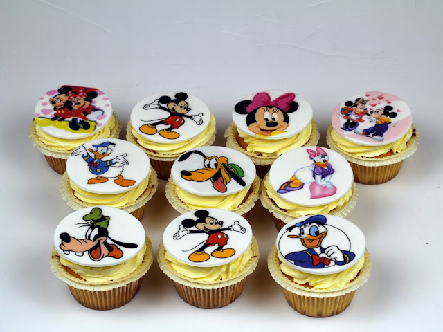 Mickey Mouse Clubhouse Cupcakes in London