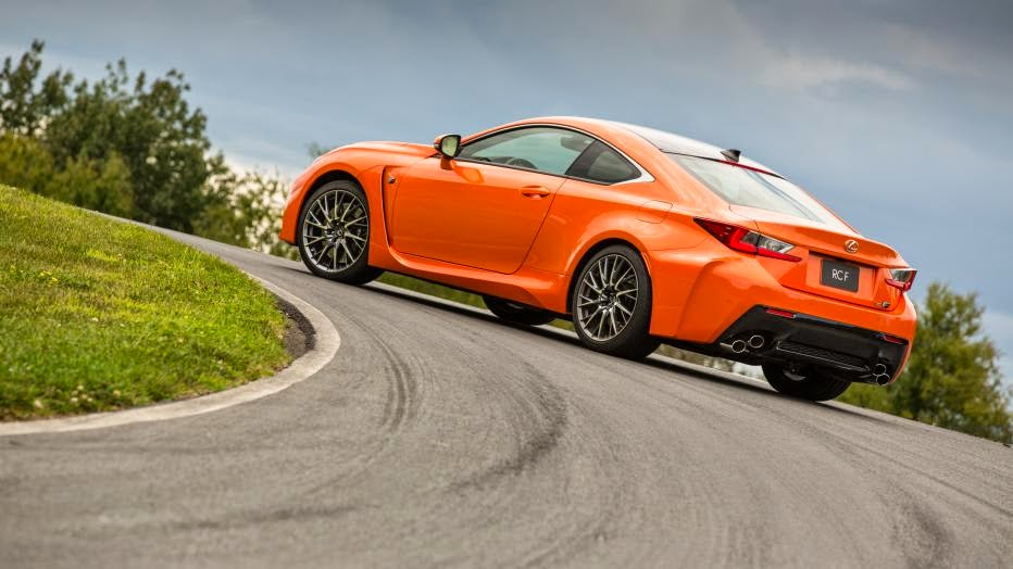 News - 2015 Lexus RC F coupe first drive