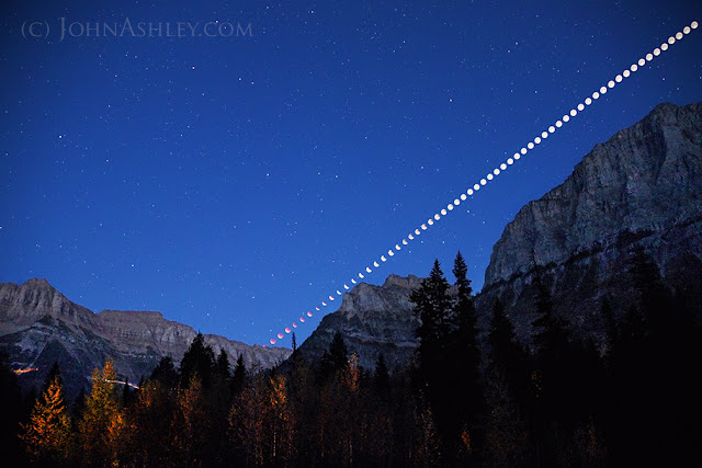 lunar eclipse (c) John Ashley