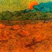 'Paisatge vespertí a la sortida de la lluna (Vincent Van Gogh)'