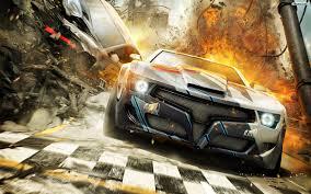 3D Mustang Arabası Yeni