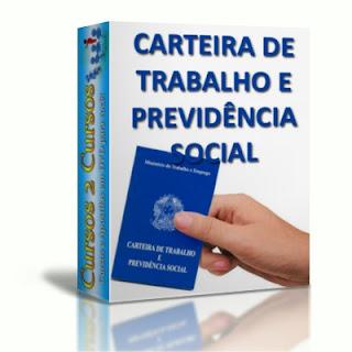 CTPS - Carteira de trabalho e previdência social
