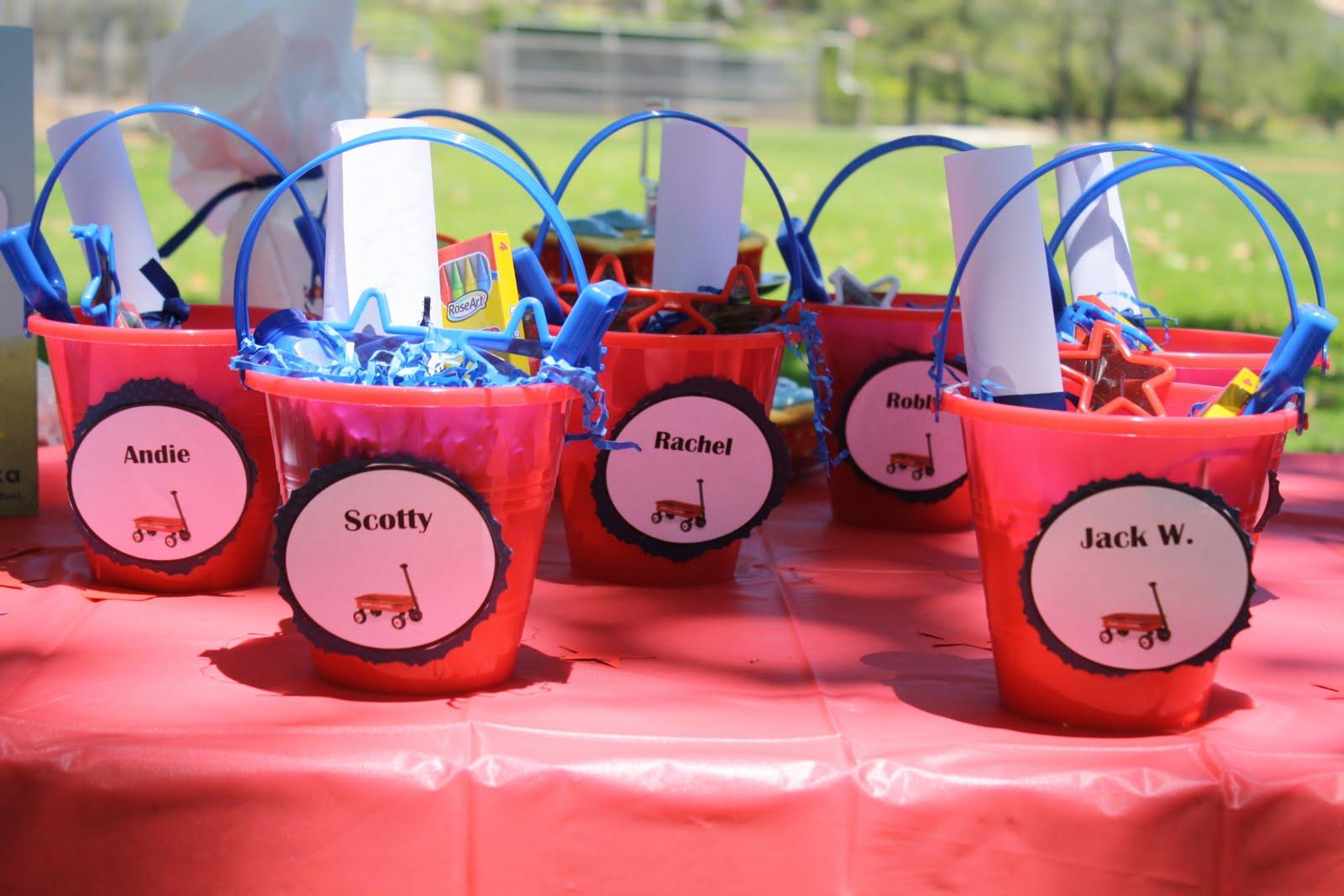 Heartfelt Henings Little Red Wagon Birthday Party