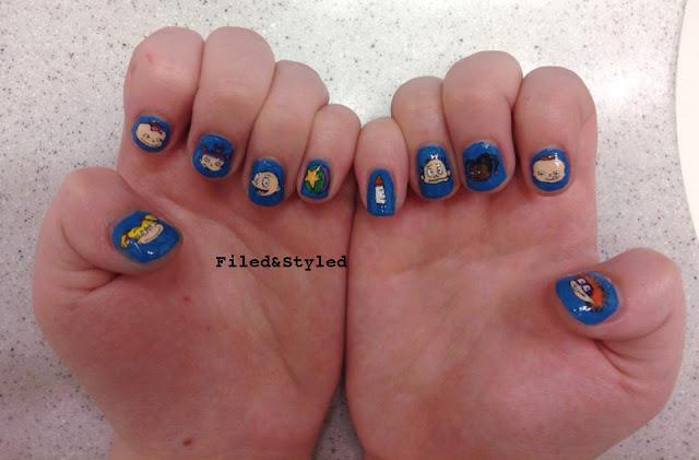 rugrats nails