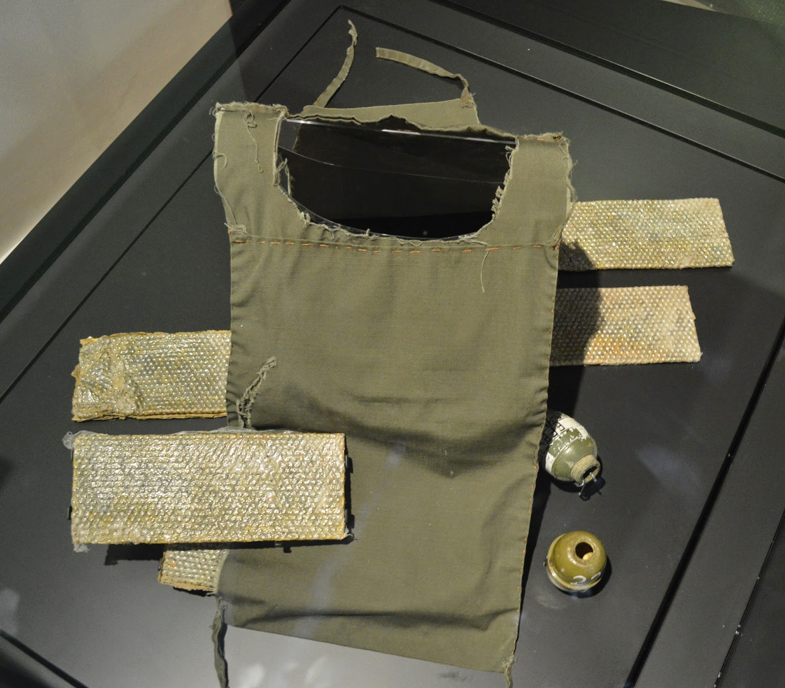 suicide vest, photograph, ball bearings, Iraq, modern warfare, war, conflict, terrorism, insurgents