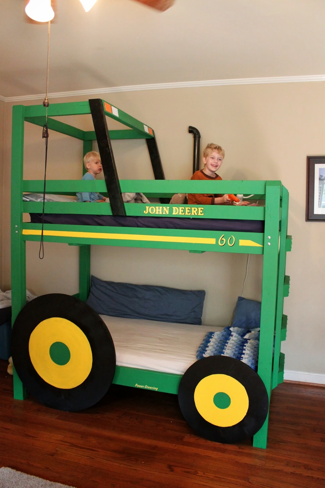 DIY Tractor Bunk Beds