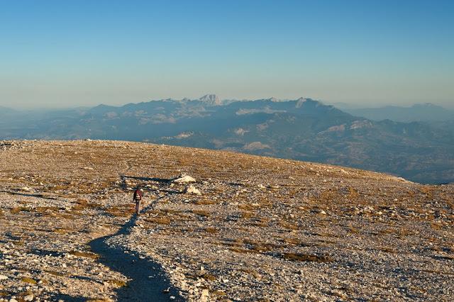 Gruppo del Gran Sasso visto dal Monte Amaro della Majella
