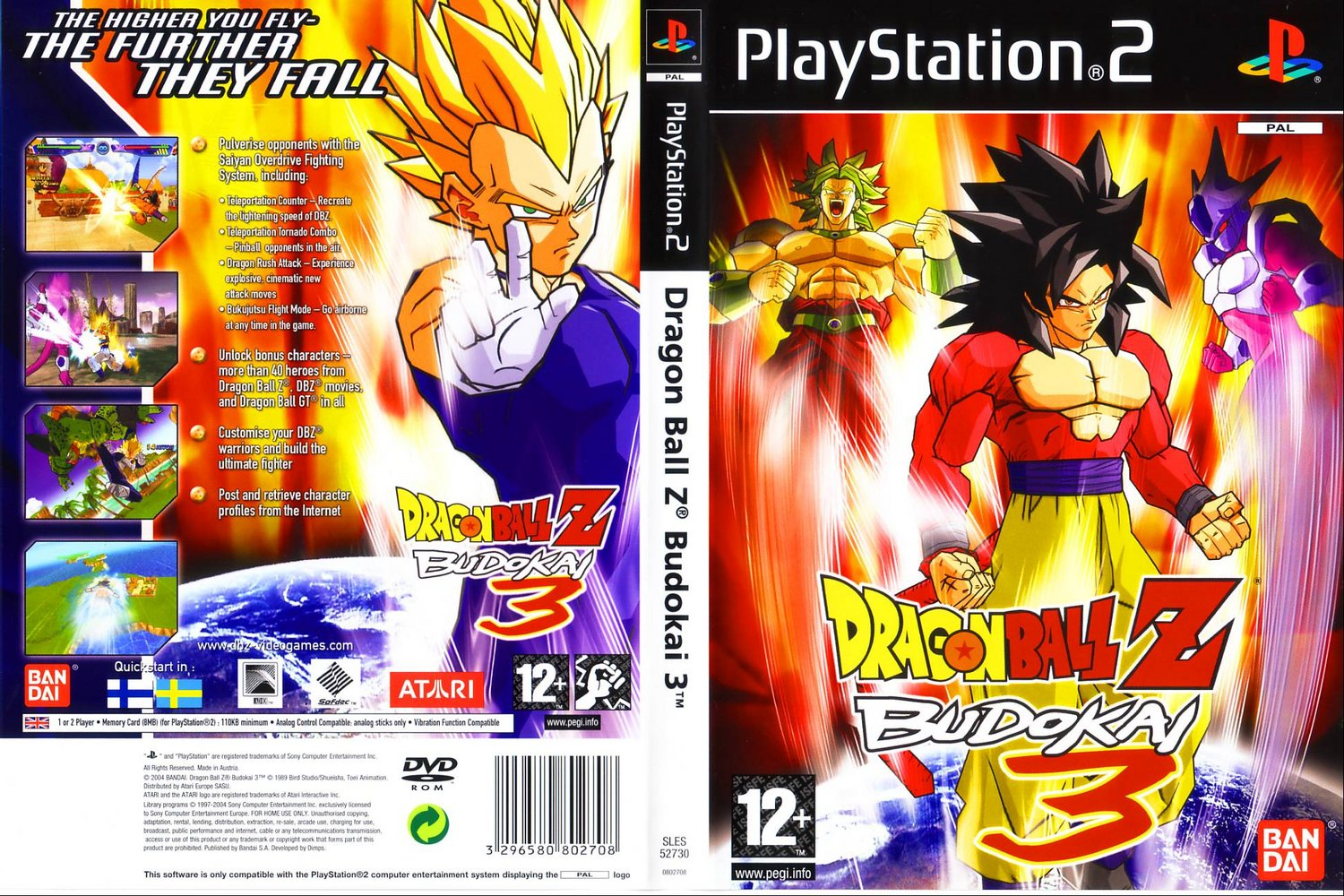 DRAGON BALL Z - BUDOKAI 3 (PS2)