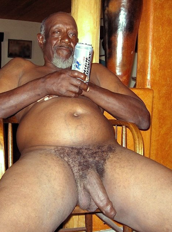 old daddy naked