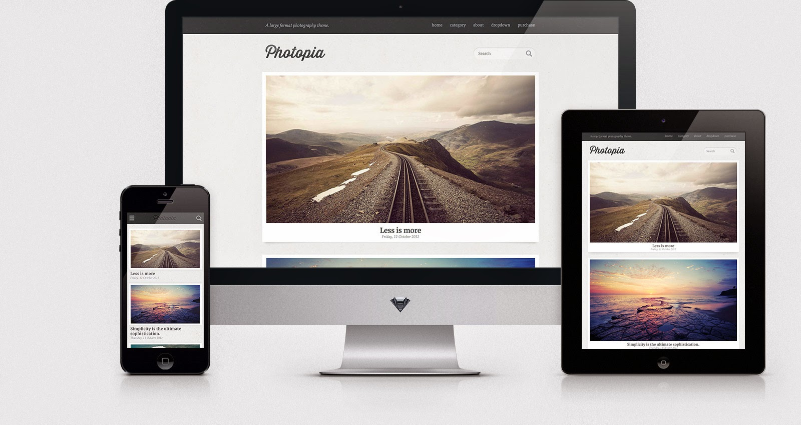 Download Photopia - Free Responsive Wordpress Portfolio Themes 2015