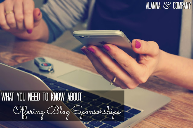 What You Need to Know About Offering Blog Sponsorships