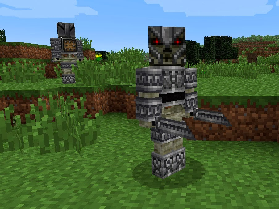 Mo' Creatures Silver squeletons Minecraft mod
