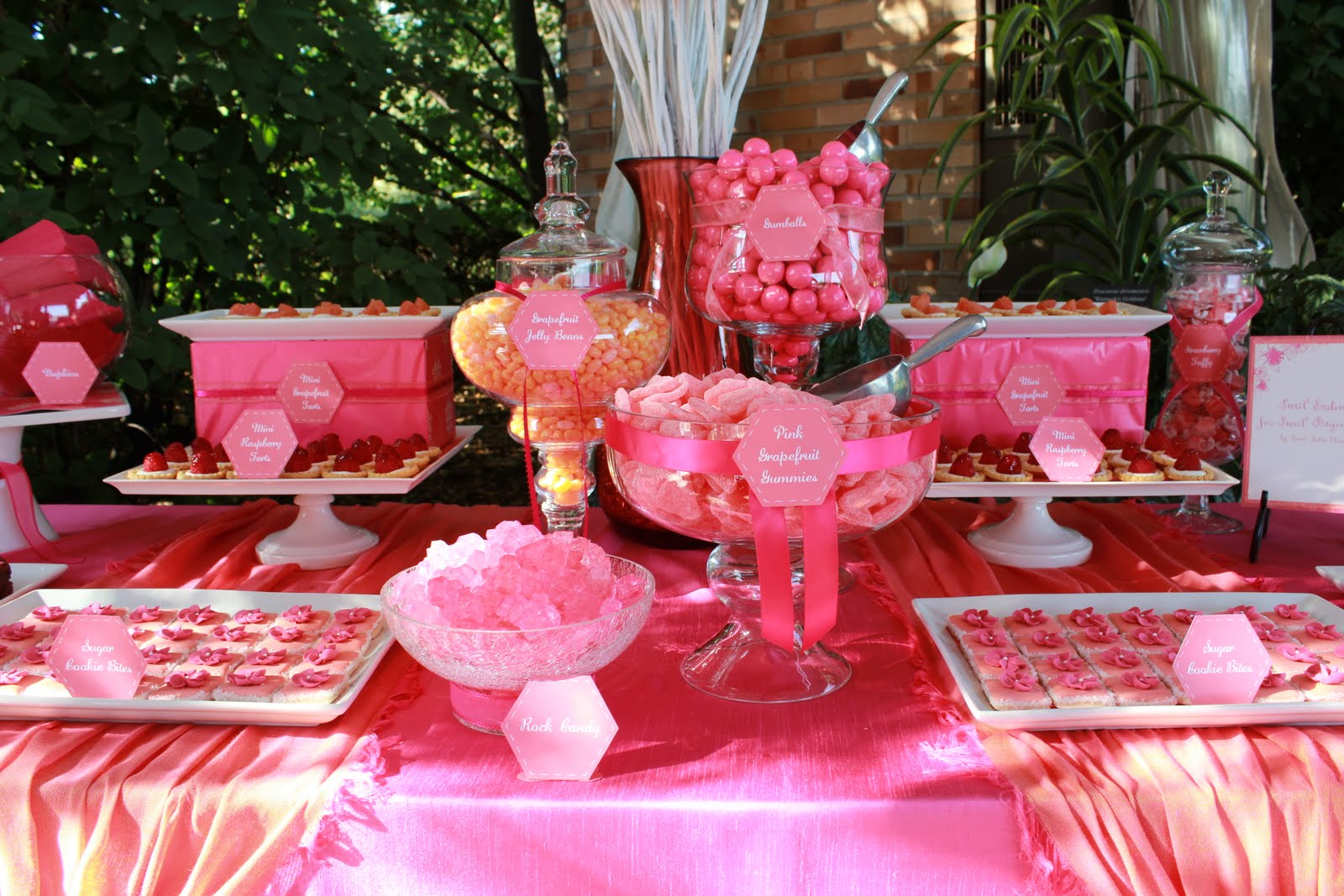 Chicago Botanic Garden Wedding Sweet Table | Sweet Table Salt Lake City