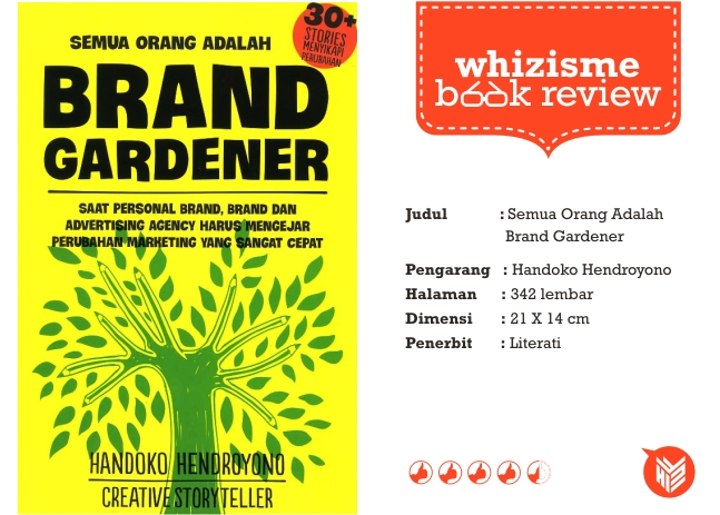 BRAND GARDENER, book review, buku, marketing, buku periklanan