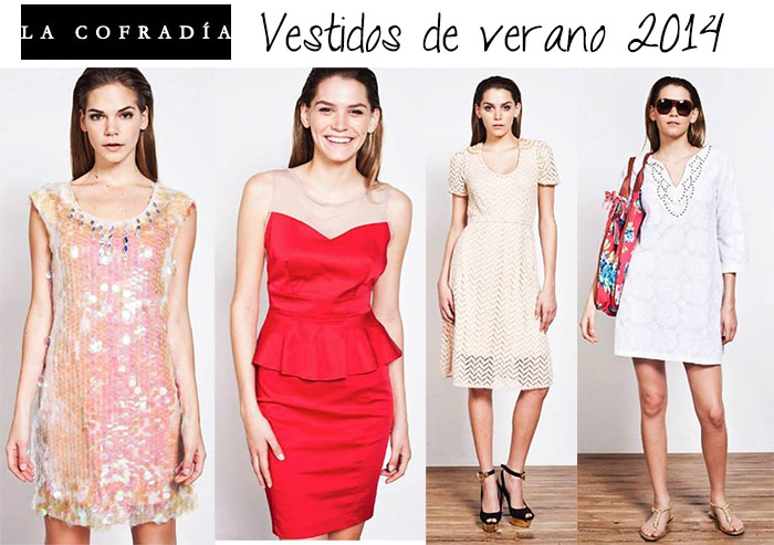 Vestidos de verano 2014 La Cofradia