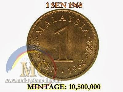 1 sen 1968