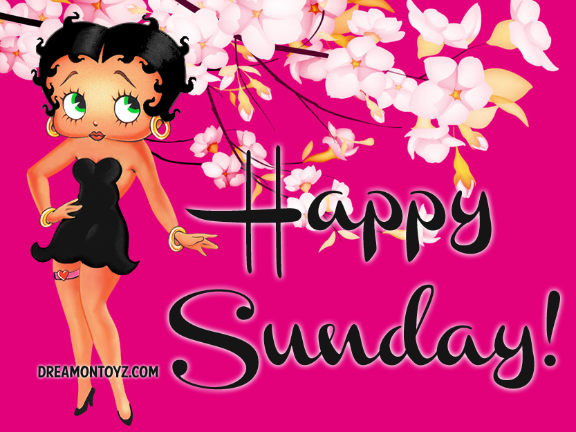 Betty Boop Pictures Archive Betty Boop Happy Sunday Images