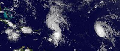 Nicht viel Neues im Atlantik bis auf etwas Regen in der Dominikanischen Republik, Wettervorhersage Wetter, Punta Cana, Dominikanische Republik, Ophelia, Hilary, Philippe, September, 2011, Hurrikansaison 2011, aktuell, Bermudas, Neufundland,