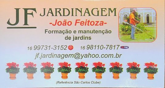 JF - Jardinagem - São Carlos/SP