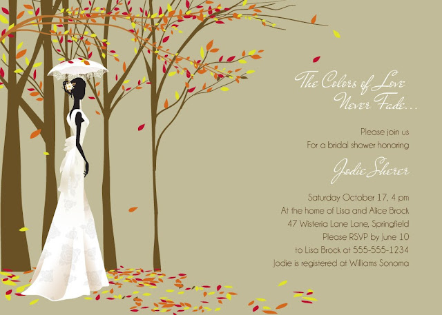 Autumn Wedding Shower Invitations1