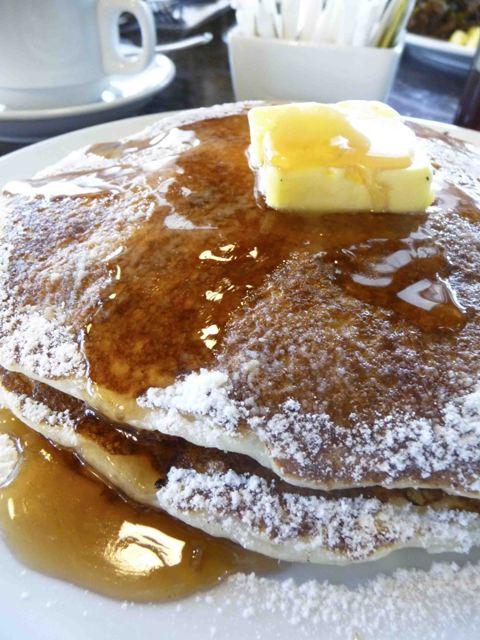 Malcolm's Deli buttermilk pancakes