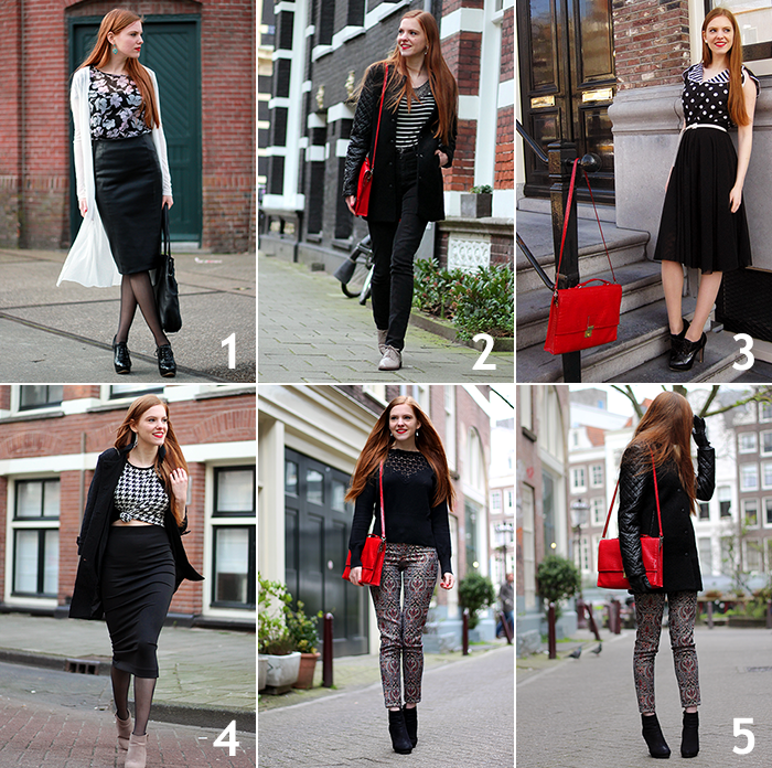 Dutch Fashion Blogger Vintage Retro 50s outfits March Spring Winter