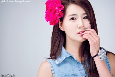 15 Han-Ga-Eun-Denim-Shirt-01-very cute asian girl-girlcute4u.blogspot.com