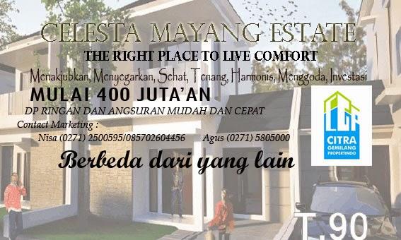 Rumah Gentan Celesta Mayang Estate