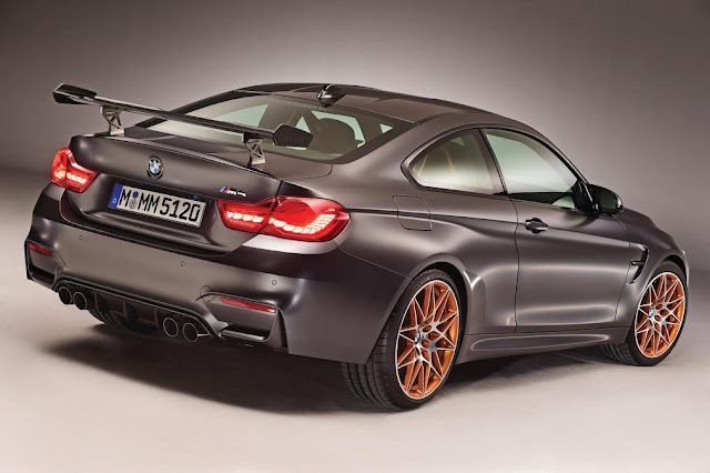2015 New BMW M4 GTS Special coming to UK back view